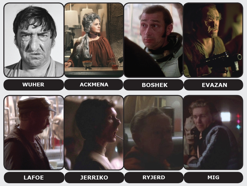 Most Eisley human-like characters