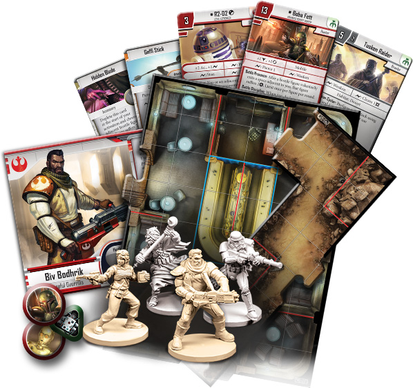 Star Wars: Imperial Assault – Twin Shadows Expansion