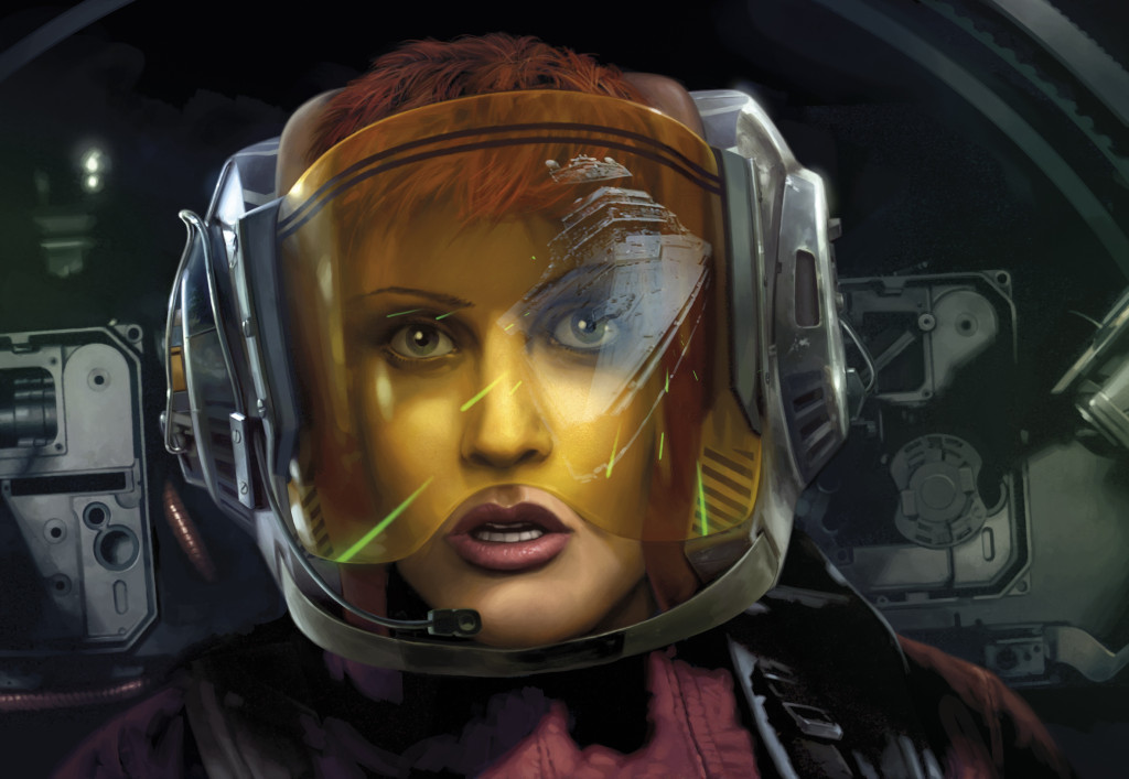 Gina Moonsong from Blade Squadron