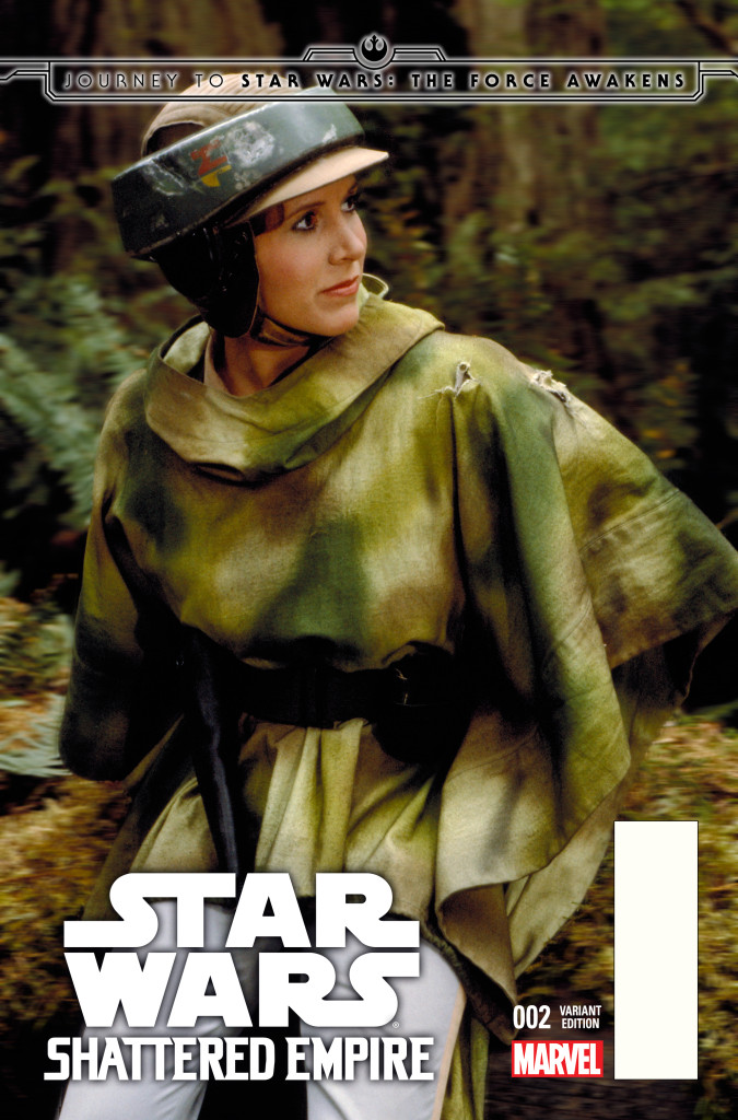 Princess Leia in Shattered Empire