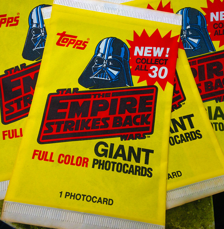 The Empire Strikes Back Giant Photo Cards