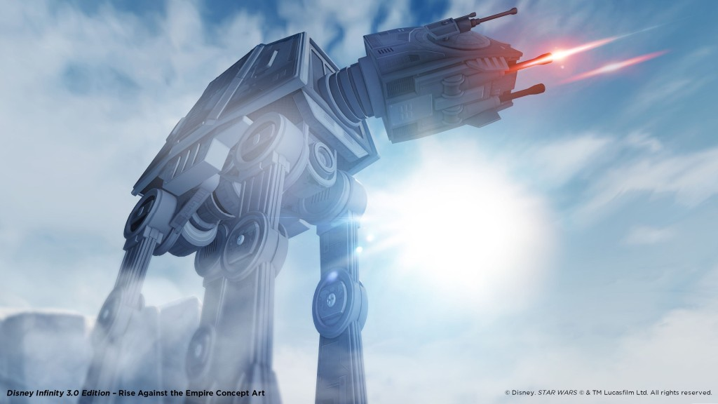 AT-AT in Rise Against the Empire