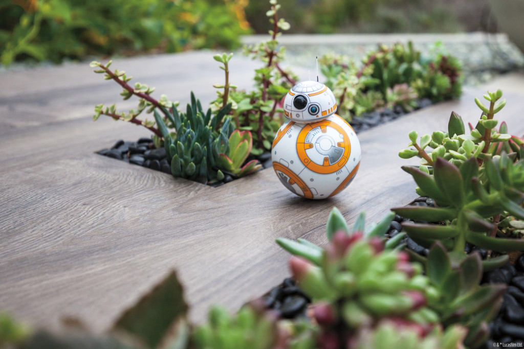 Sphero BB-8 toy in action
