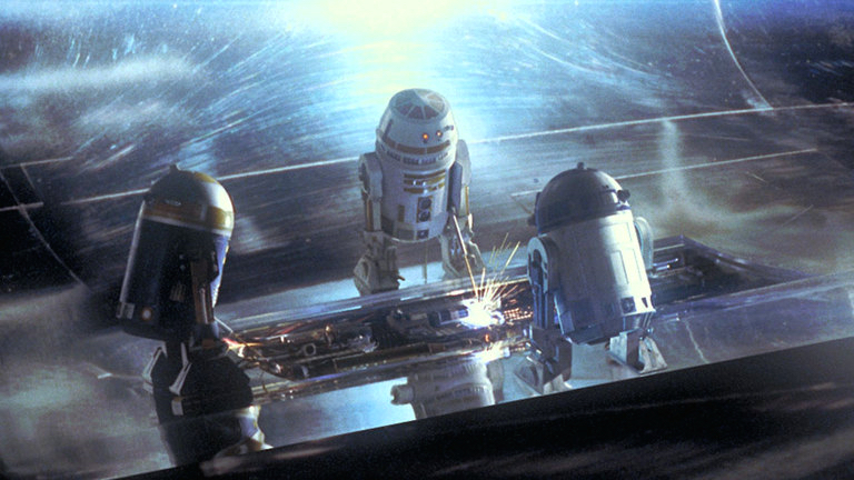 Astromech droids in The Phantom Menace