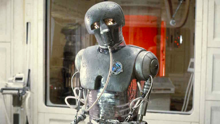 Medical droid in The Empire Strikes Back
