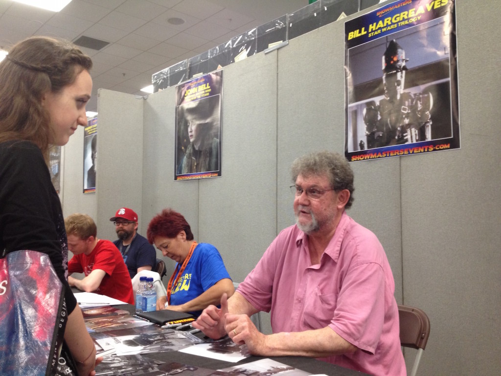 Bill Hargreaves - London's Film and Comic Con