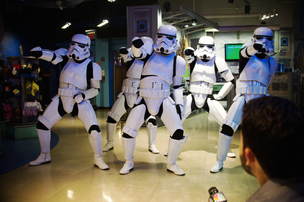 Stormtroopers on Force Friday