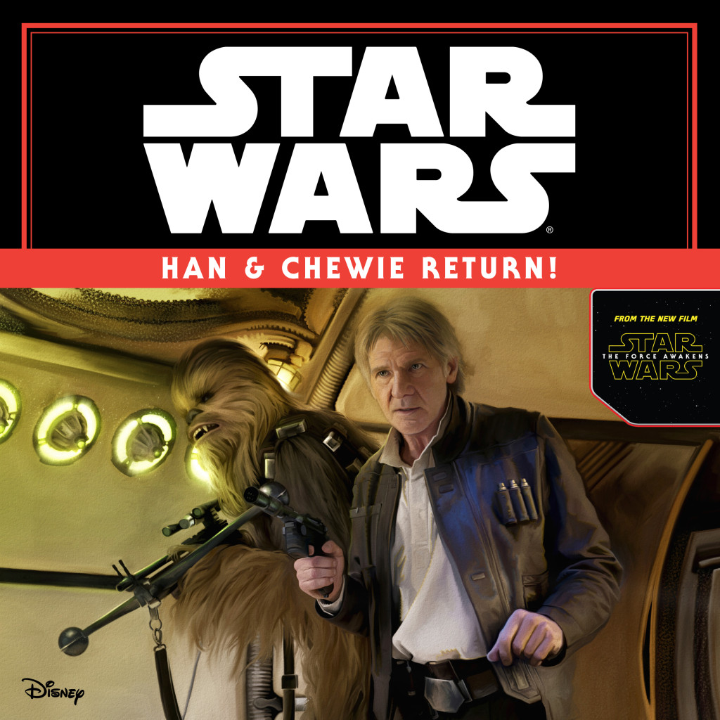 Star Wars: The Force Awakens Han and Chewie Return