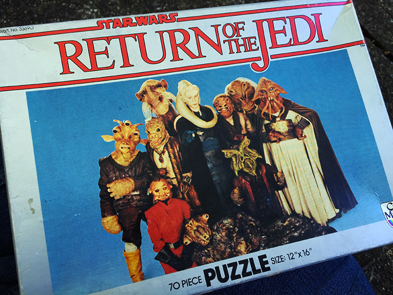 Return of the Jedi puzzle