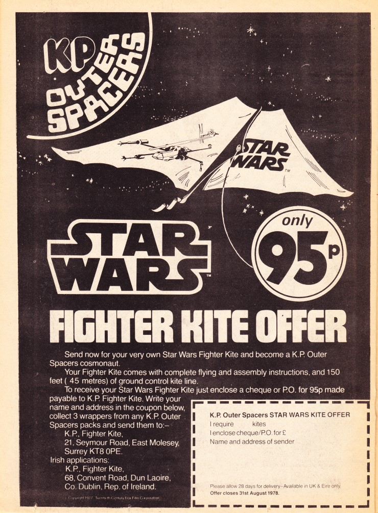 Star Wars Weekly - Fighter Kite Offer