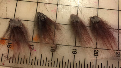 Salacious Crumb hat - hair