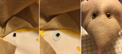 Salacious Crumb hat - front and interior