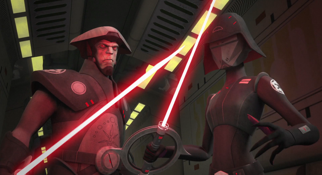 Star Wars Rebel - Seventh Sister and Fifth Brother