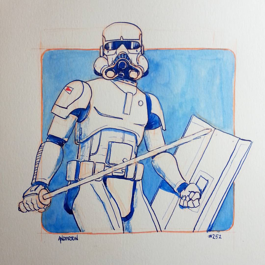 Fully Operational Fandom - Anderson McQuarrie concept