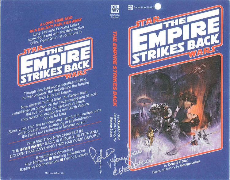 McQuarrie - Empire Strikes Back Book Cover