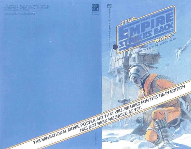 McQuarrie - Empire Strikes Back Unpublished Painting Book Cover