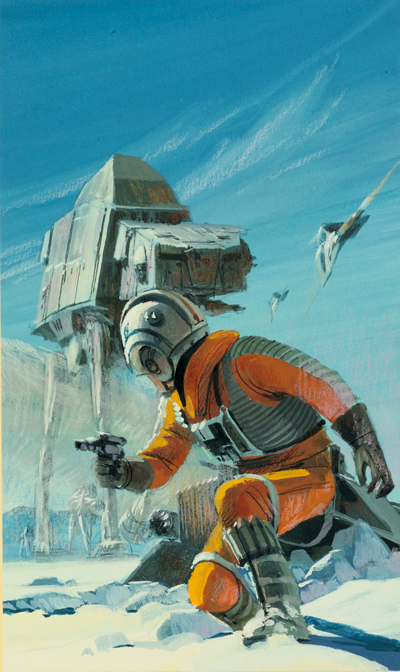 McQuarrie - Hoth with AT-AT in background