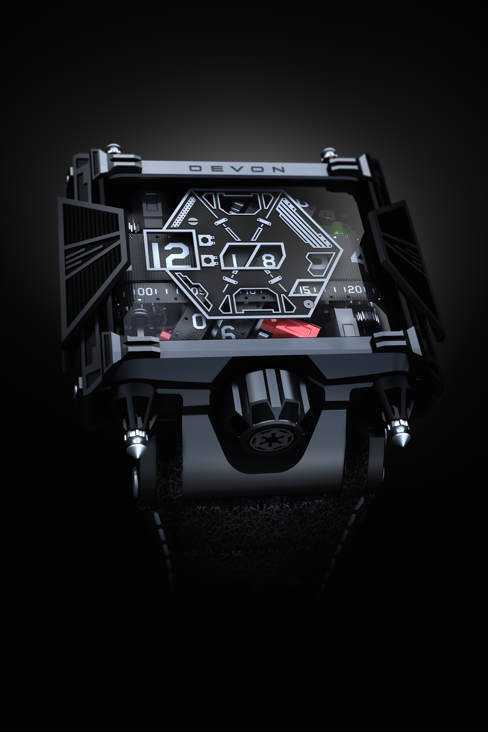 51-30 Automatic LTD Darth Vader Nixon Watch