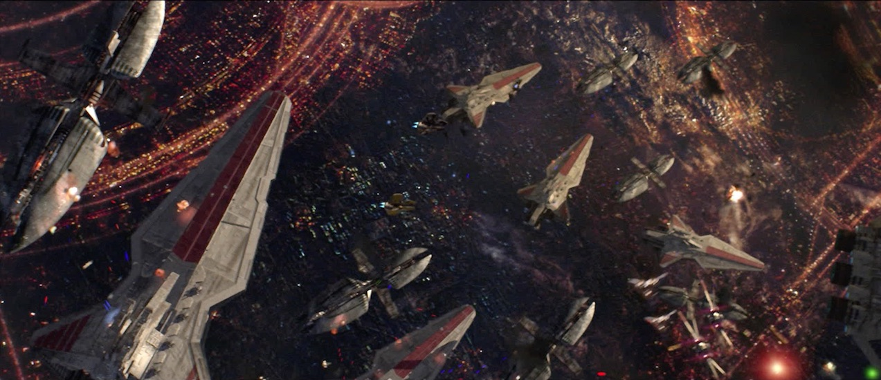 Revenge of the Sith - Star Wars Space Battle