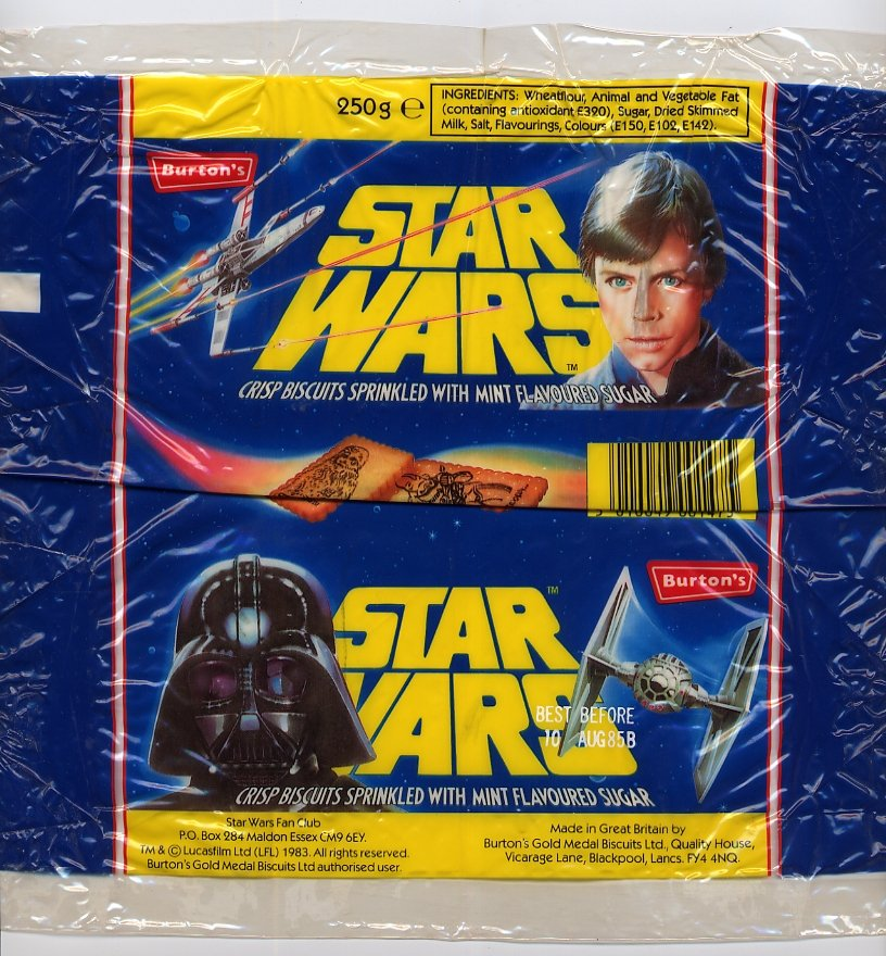 Burtons Biscuits - Luke and Vader 2