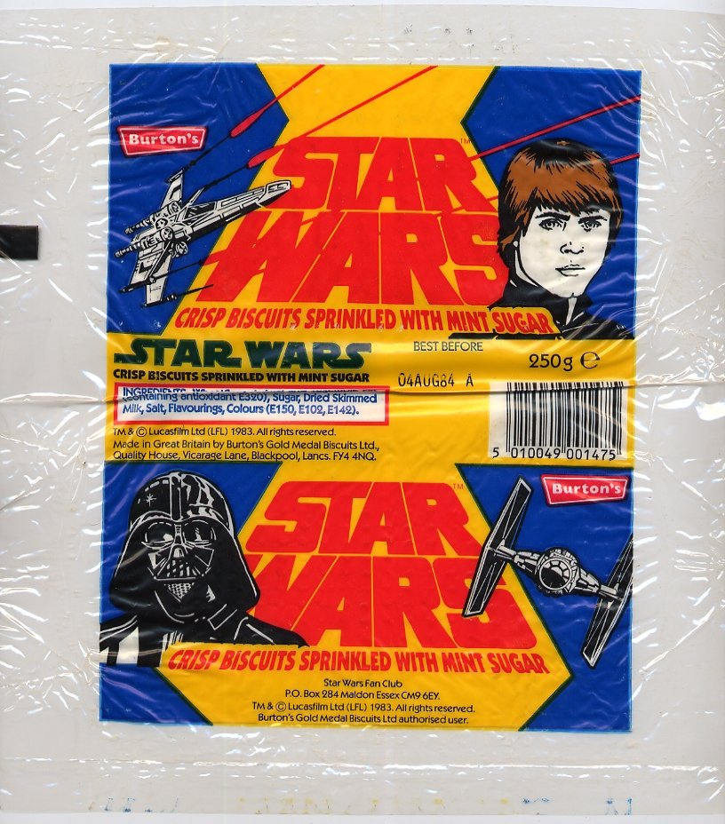 Burtons Biscuits - Luke and Vader 1