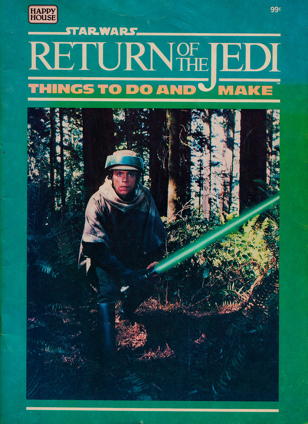 Return of the Jedi - Things to Do and Make activity book