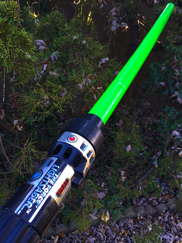 Playing Jedi The History Of Toy Lightsabers Starwars Com