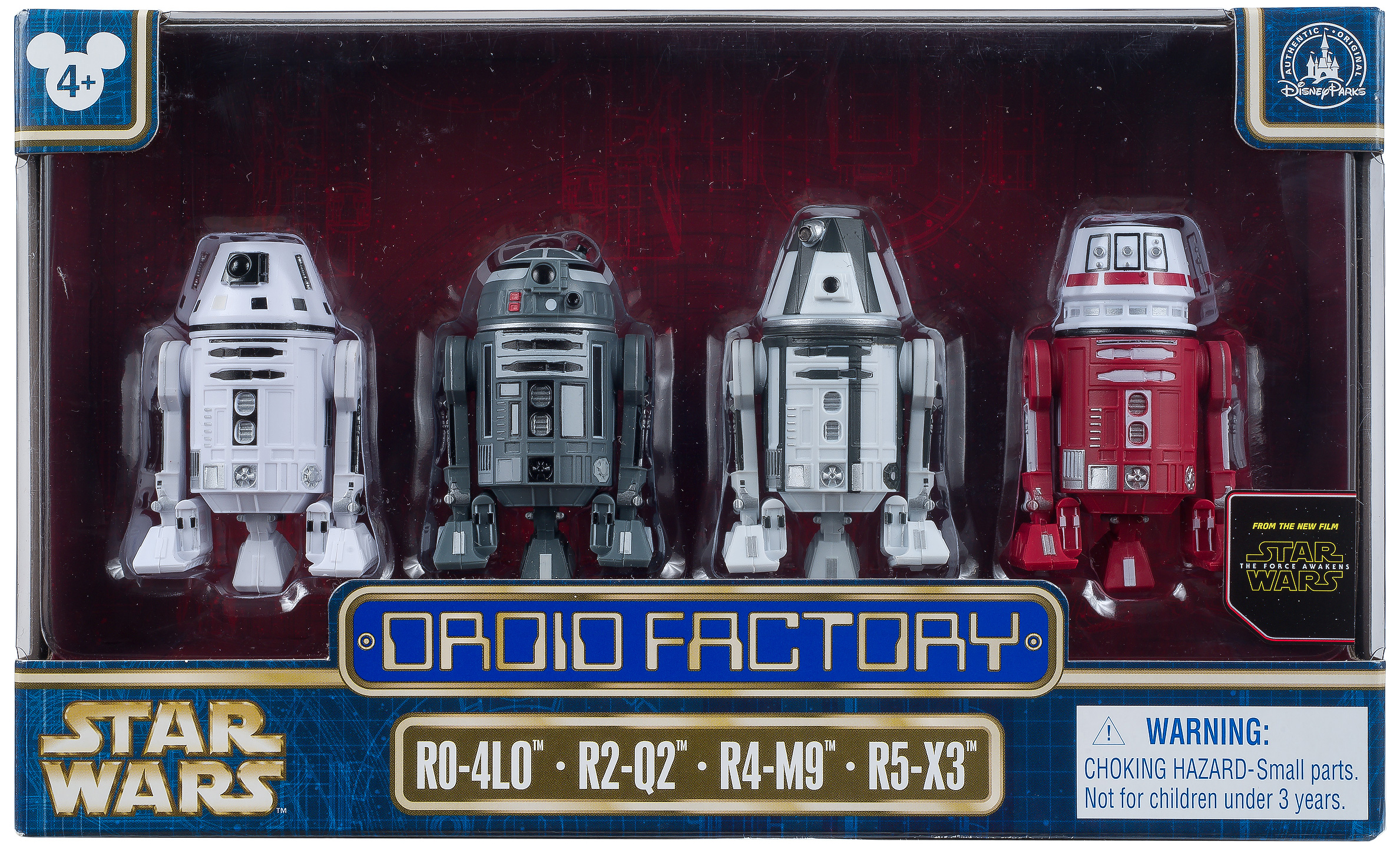 Droid Factory boxed set