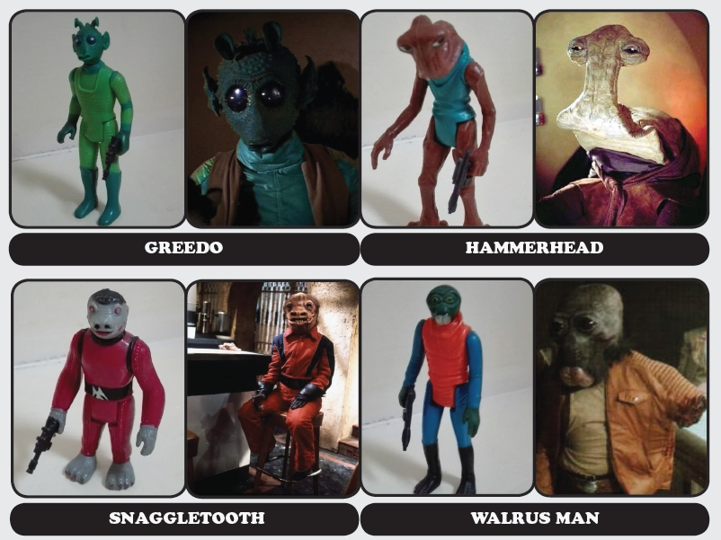 Star Wars Cantina Aliens