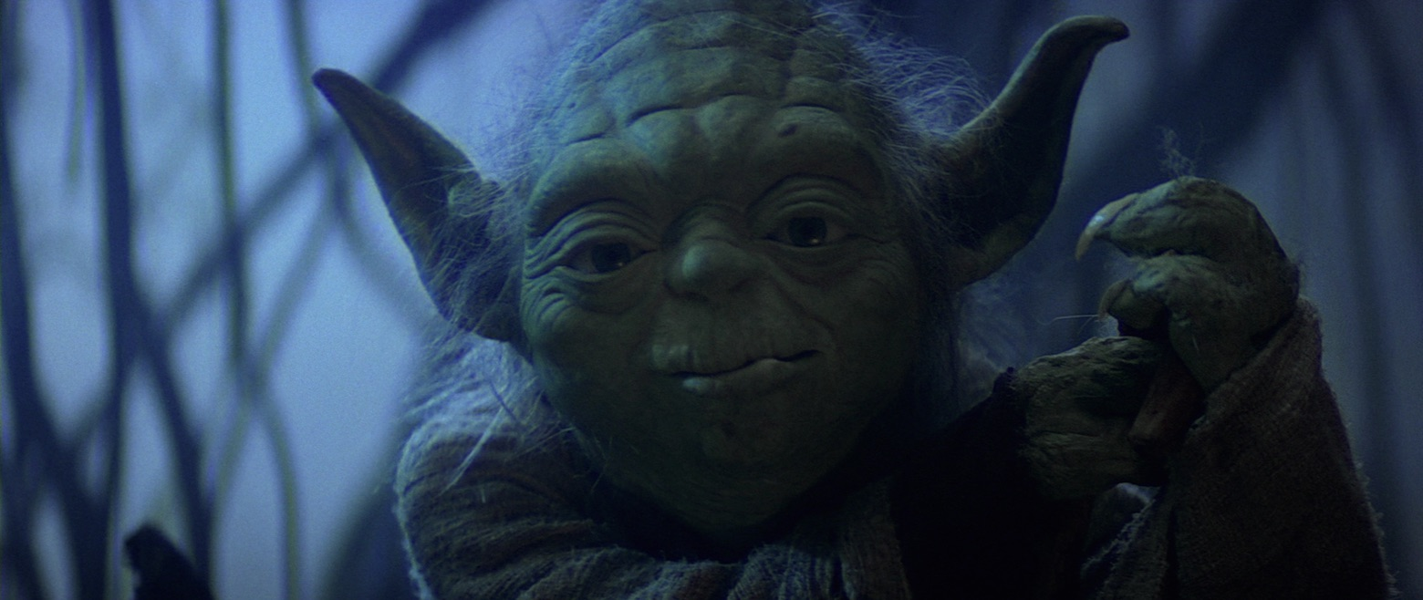 The Empire Strikes Back - Yoda on Dagobah