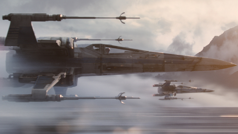 The Force Awakens - Resistance X-Wing