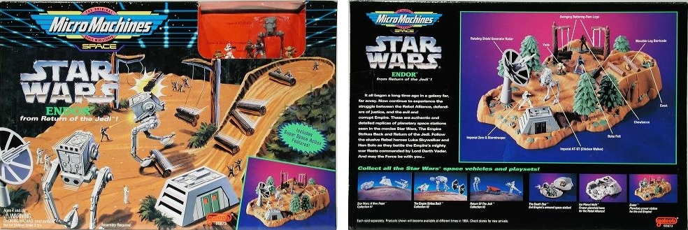 Star Wars Micro Machines - Boxes