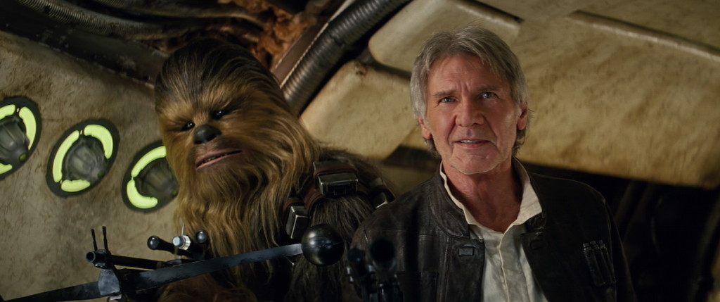 The Force Awakens - Han and Chewbacca
