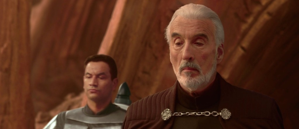 Attack of the Clones - Count Dooku on Geonosis