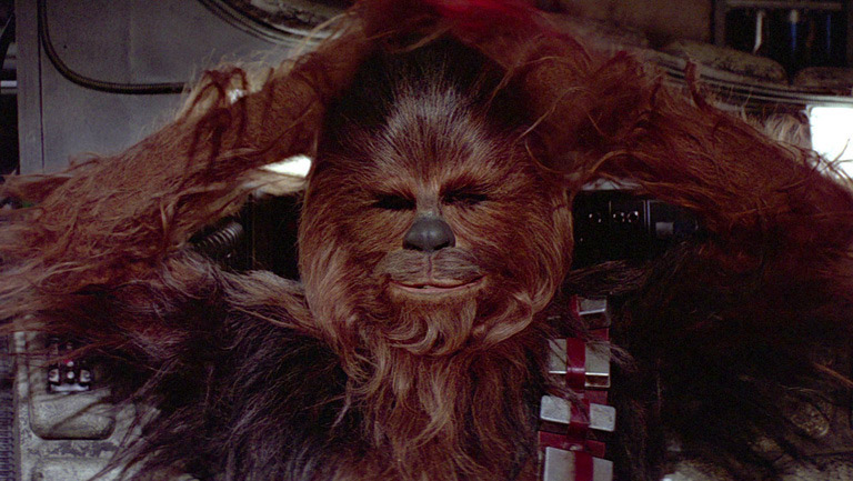 The Force Awakens - Chewbacca with his Bandolier Strap