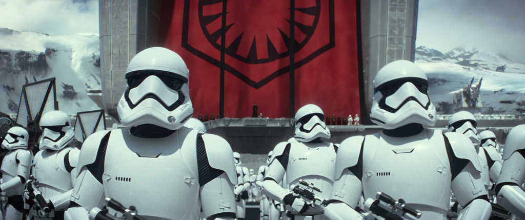The Force Awakens - First Order stormtroopers