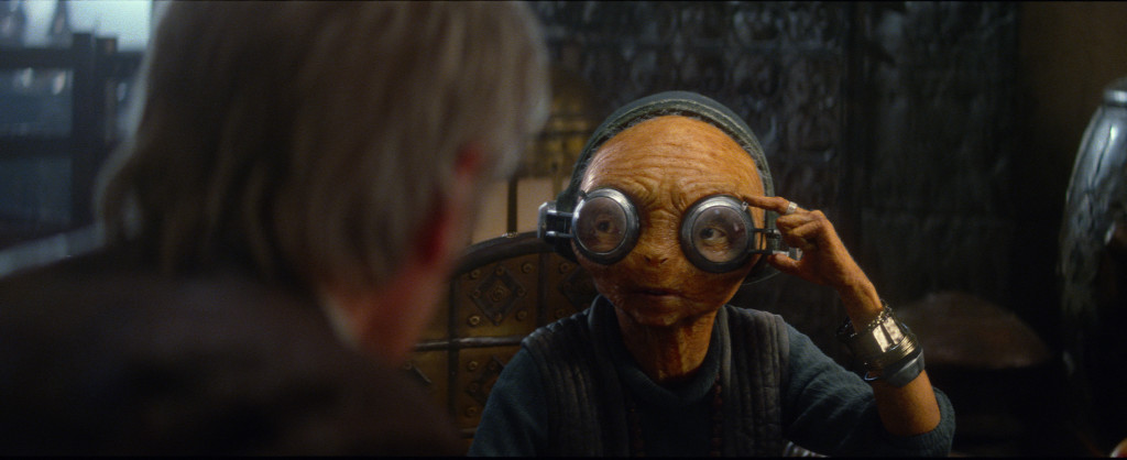 The Force Awakens - Maz Kanata