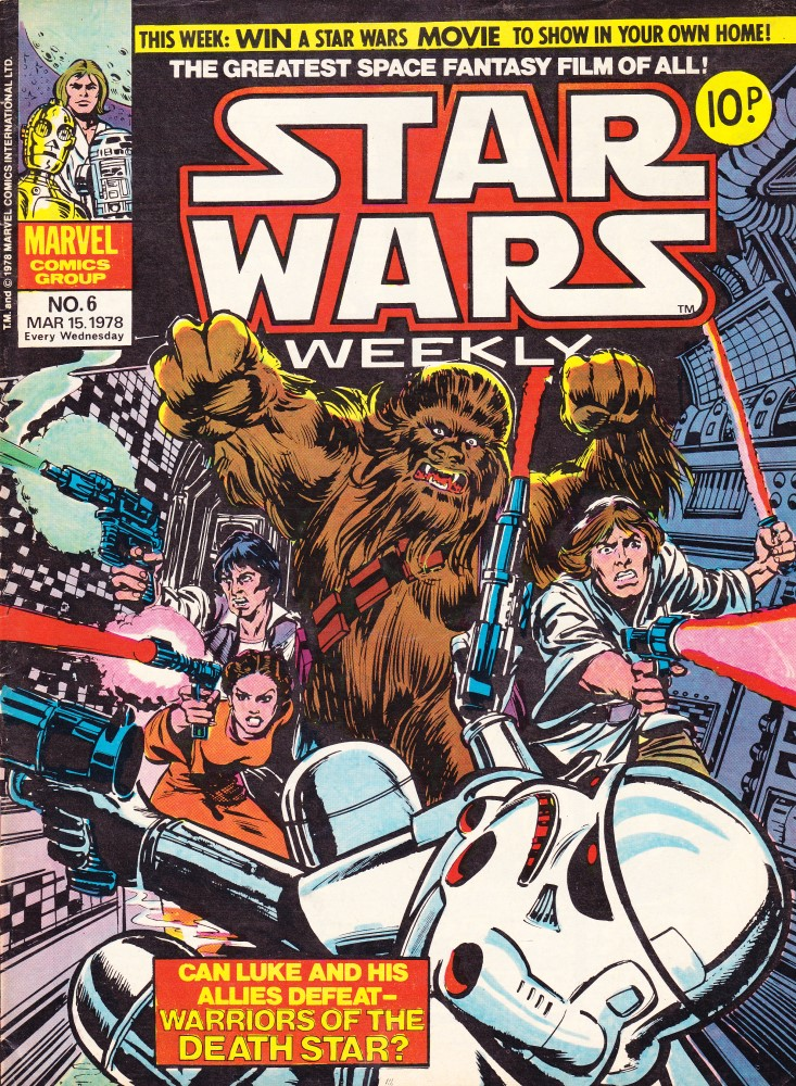 Star Wars Weekly Issue #6 Cover