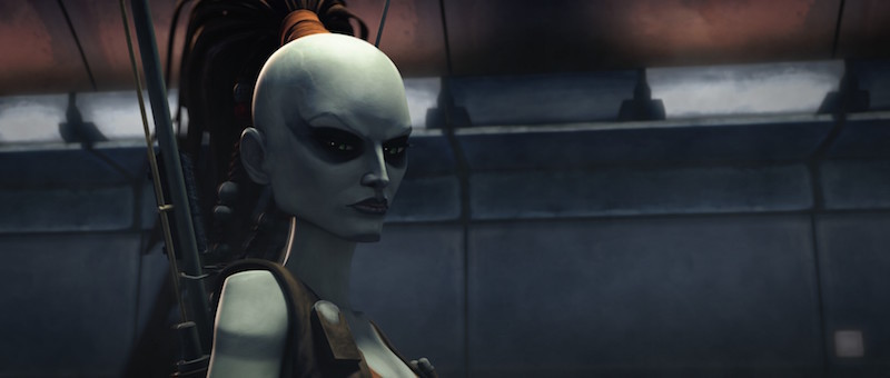 The Clone Wars - Aurra Sing