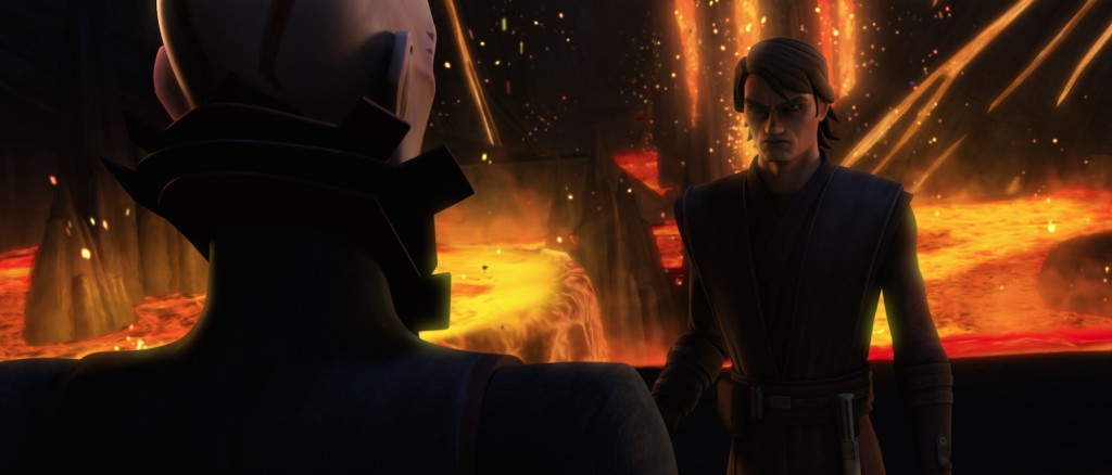 The Clone Wars - Son and Anakin