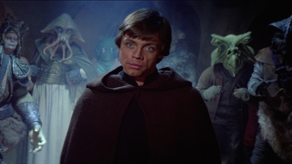 Return of the Jedi - Tessek (on the left) and Shasa Tiel (on the right)