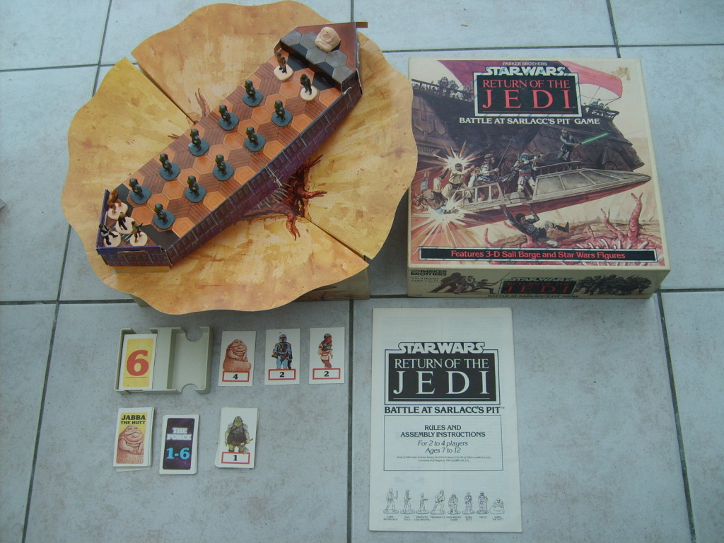 Star Wars Boardgames - Battle at Sarlacc's Pit