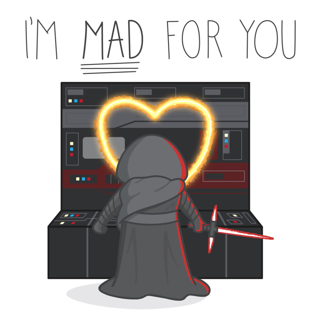 Toll ... Star Wars: The Force Awakens Valentine ...