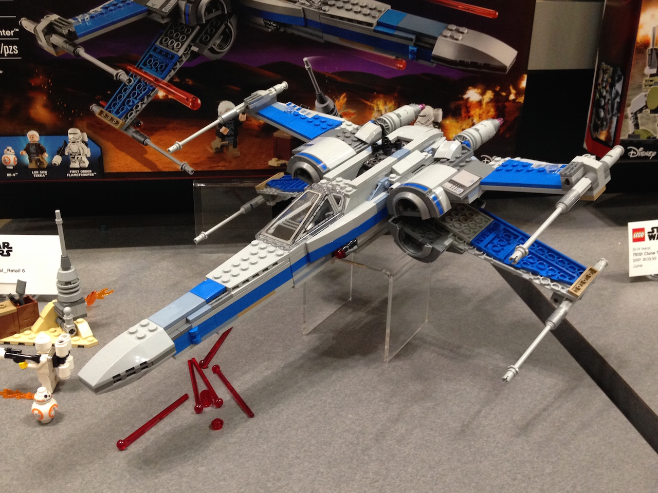 The Resistance X-Wing Fighter