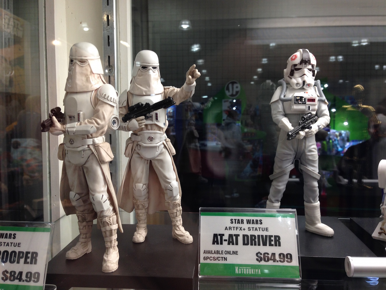 Snow trooper and AT-AT Driver Figures