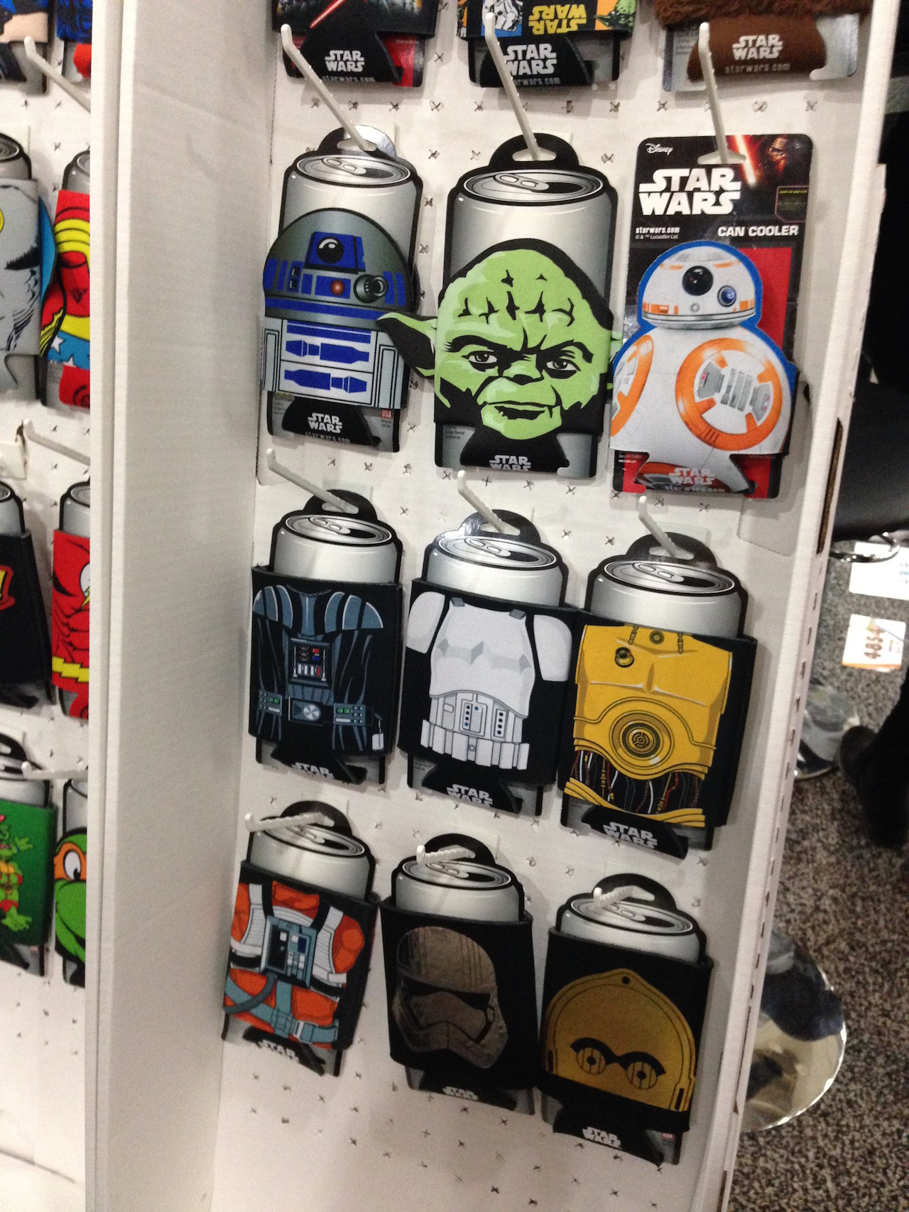 Star Wars Can Cozies