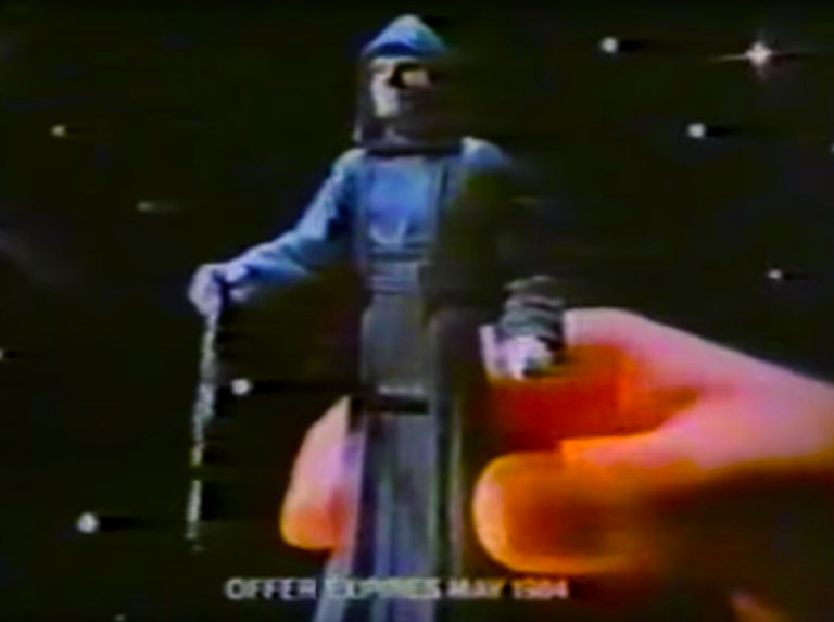 Kenner Vintage TV Commercials - Emperor Palpatine