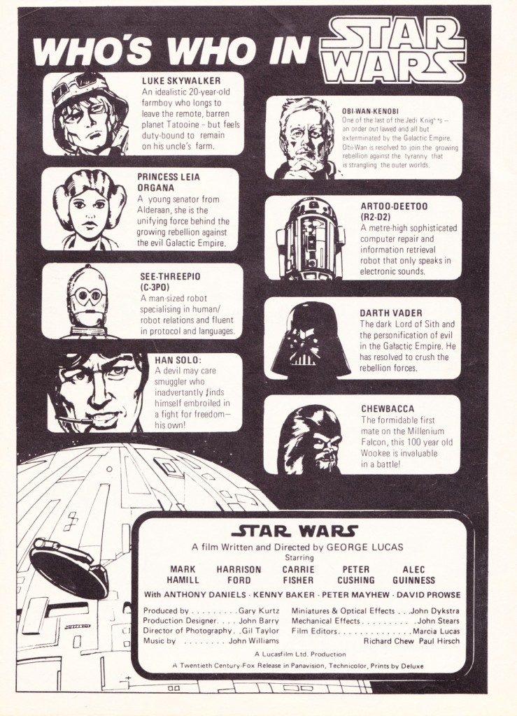 Star Wars Weekly #7 - Who's Who in Star Wars