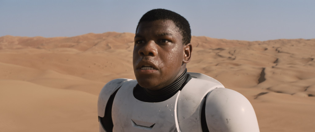 The Force Awakens - Finn on Jakku