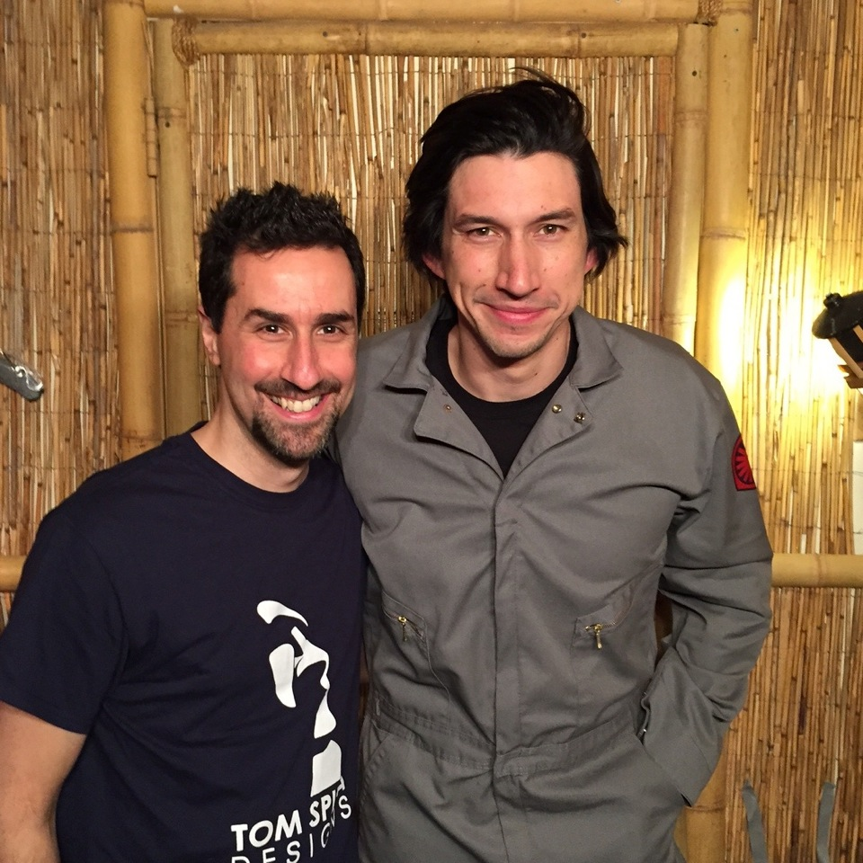 SNL - Adam Driver with Tom Spina
